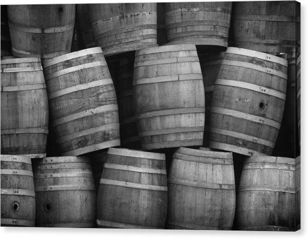 Robert Voorheis - Wine Barrels Print