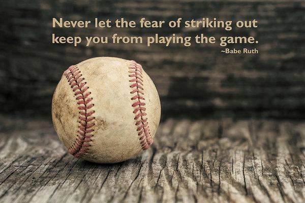 Terry DeLuco - Vintage Baseball Babe Rut... Print