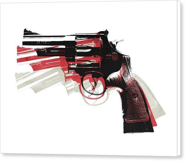 Michael Tompsett - Revolver on White Print