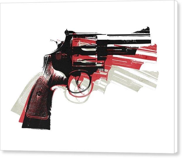 Michael Tompsett - Revolver on White - right... Print