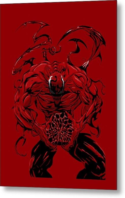 Jeff Bonesteel - Carnage Print