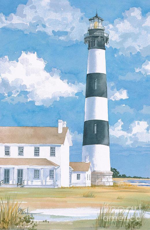 Paul Brent - Bodie Island Lighthouse Print