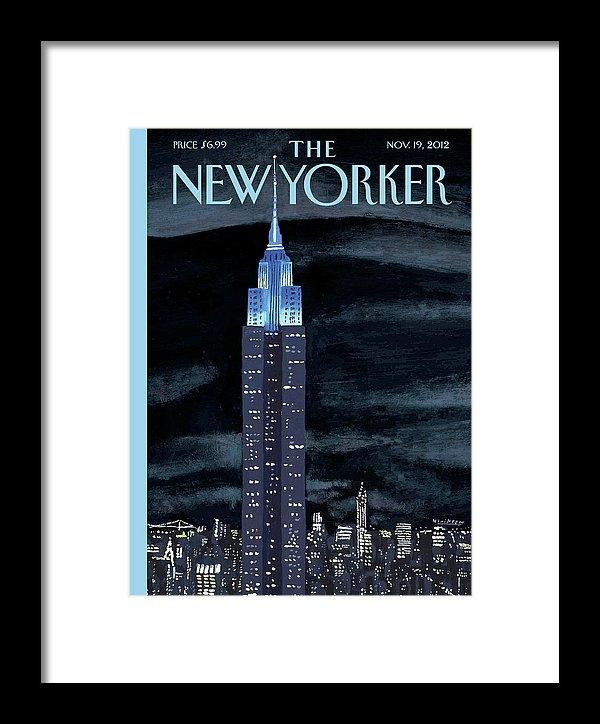 Mark Ulriksen - New Yorker November 19th,... Print
