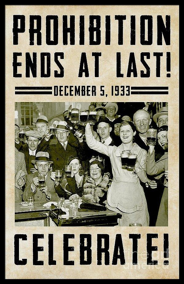 Jon Neidert - Prohibition Ends Celebrat... Print