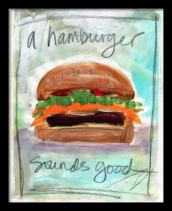 Linda Woods - Good Burger Print