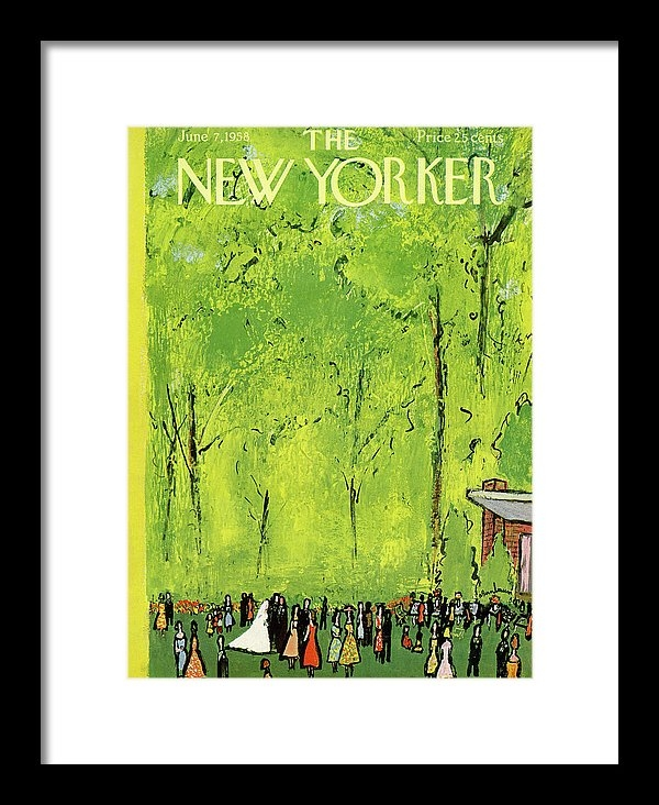 Abe Birnbaum - New Yorker June 7th, 1958 Print