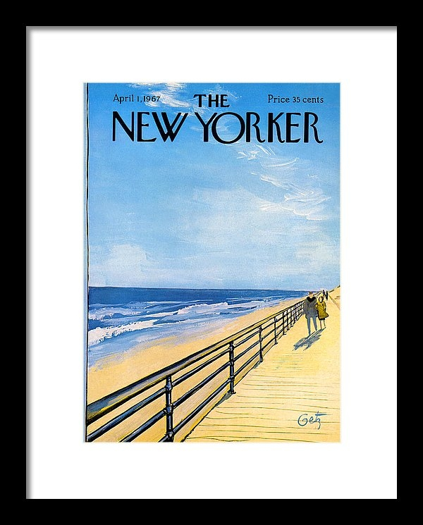 Arthur Getz - The New Yorker Cover - Ap... Print