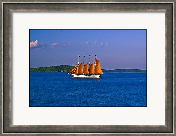 New England Photography - The Schooner Margaret Tod... Print