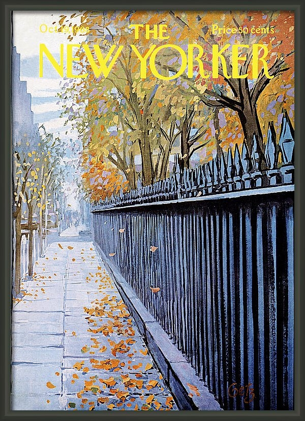 Arthur Getz - The New Yorker Cover - Oc... Print