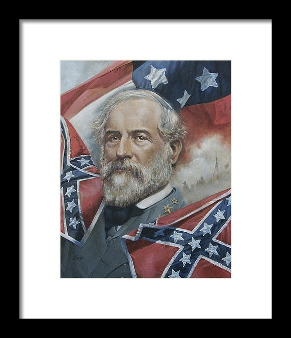 Linda Eades Blackburn - General Robert E Lee Print