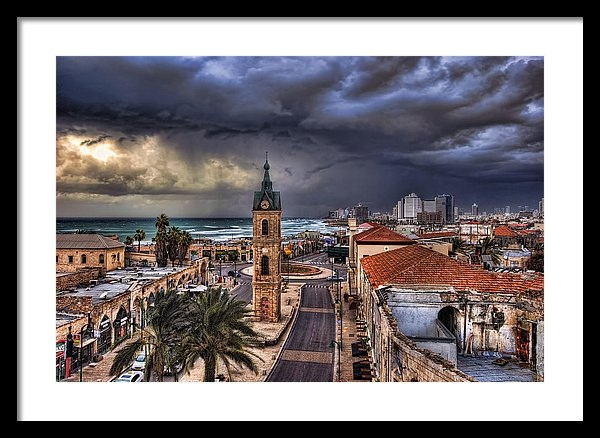 Ronsho - the Jaffa clock tower Print