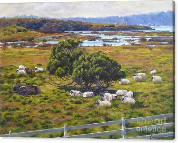 Shelley Cost - The Mission Ranch Print