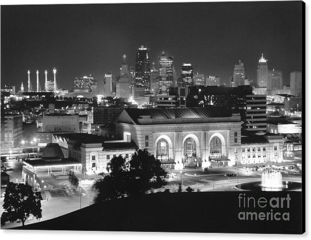 Crystal Nederman - Union Station in Black an... Print