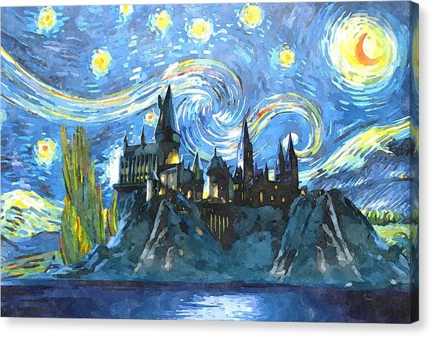Dimex Studio - Harry potter starry night Print