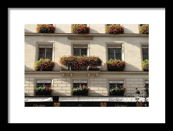 Kathy Fornal - Paris Cartier Window Boxe... Print