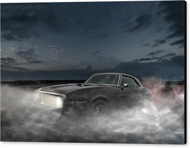 Marcus Karlsson Sall - NIght Life - Pontiac Fire... Print