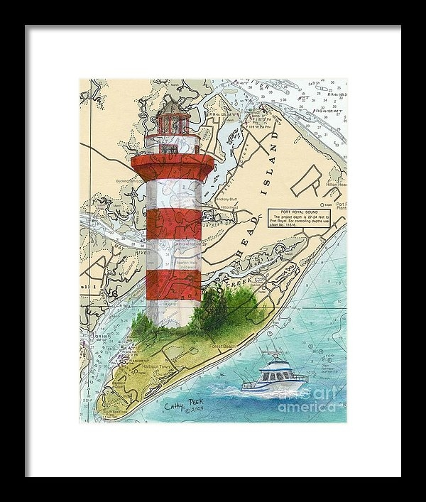 Cathy Peek - Hilton Head Island Lighth... Print