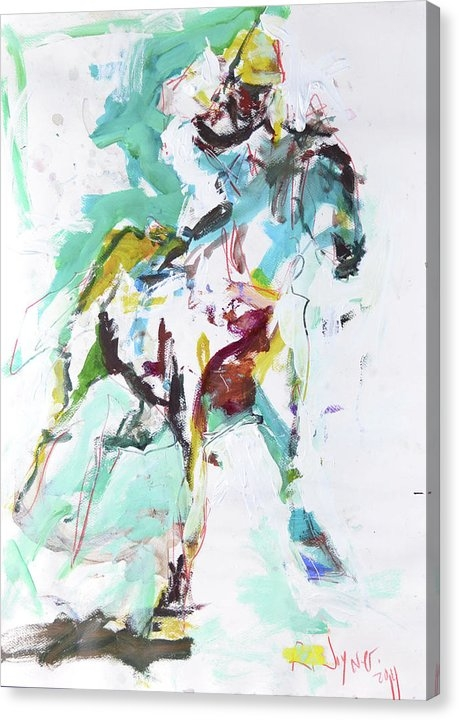 Robert Joyner - Horse Racing Painting Print