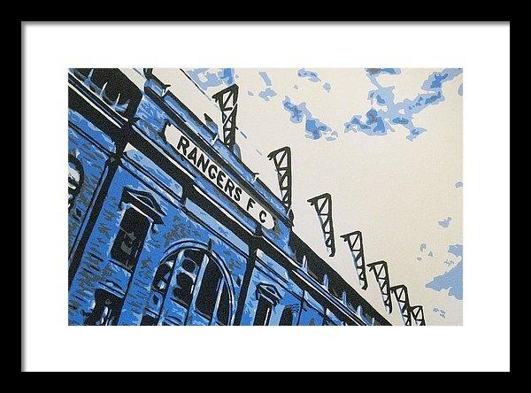 Geo Thomson - Glasgow Rangers Fc - Ibro... Print
