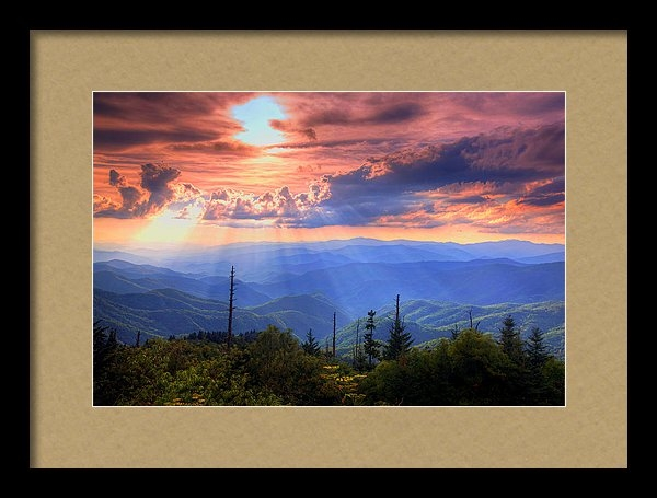 Doug McPherson - Great Smoky Mountains  Print