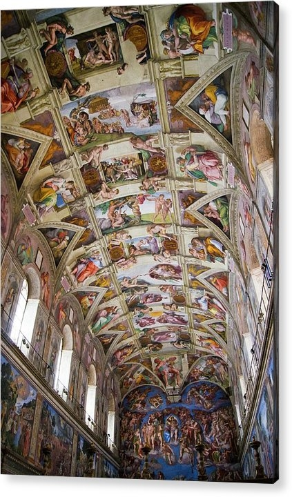 Mark Williamson - Sistine Chapel Ceiling. Print