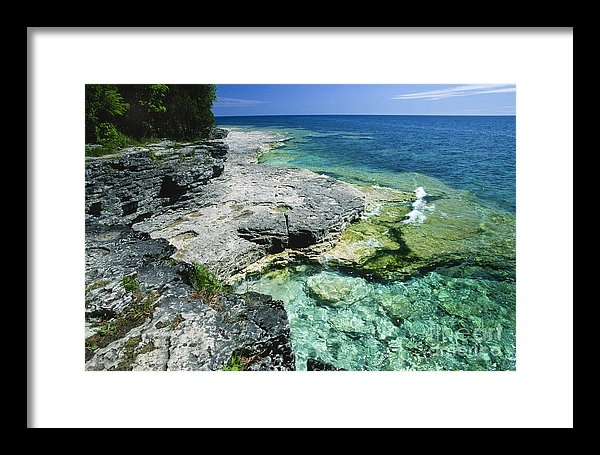 Sandra Bronstein - Cave Point Vista Print