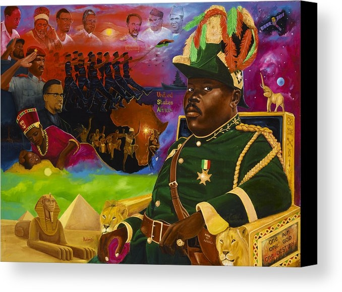 Kolongi Brathwaite - Marcus Mosiah Garvey Print
