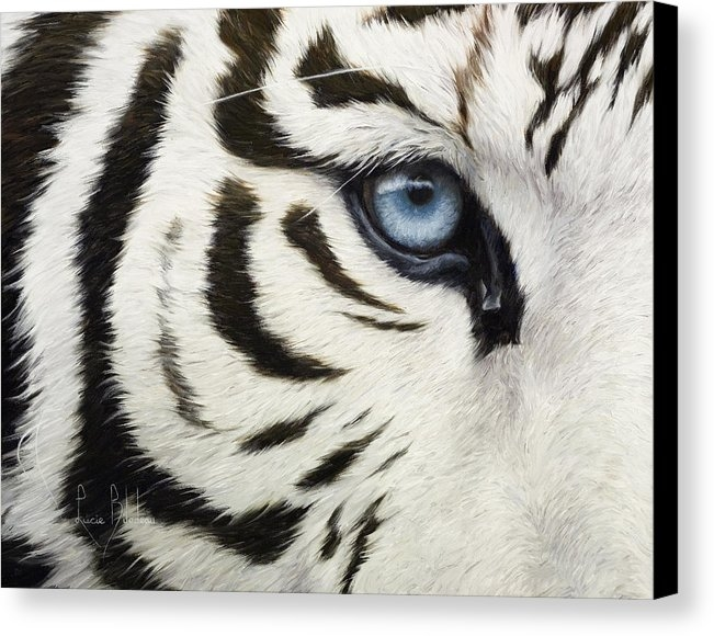 Lucie Bilodeau - Blue Eye Print
