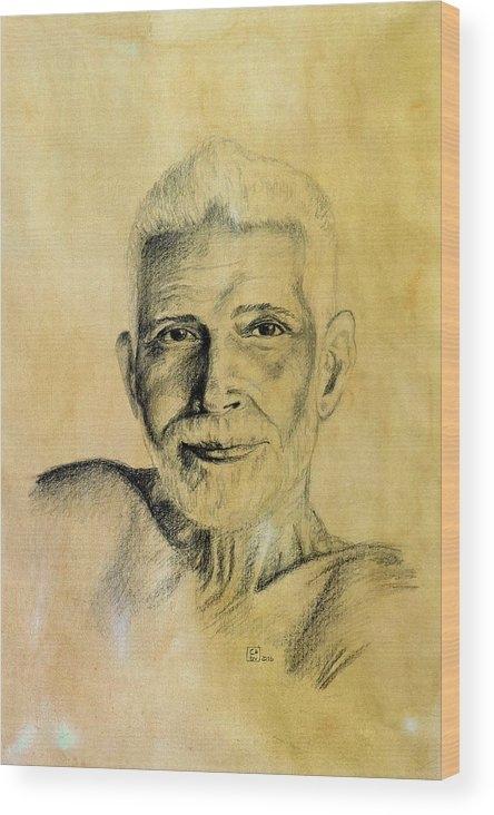 Carina Povarchik - Ramana Maharshi Print