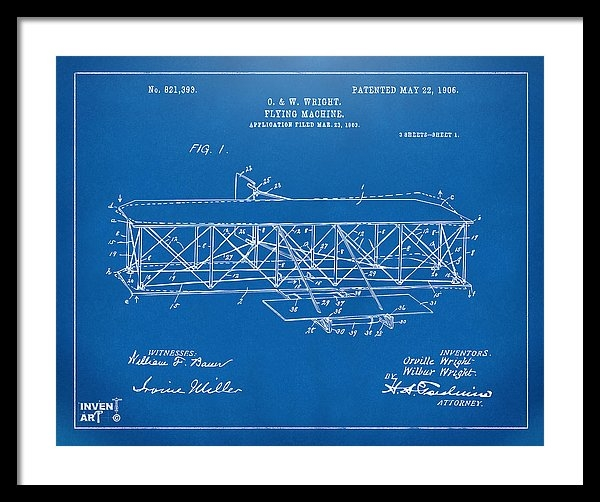 Nikki Marie Smith - 1906 Wright Brothers Flyi... Print
