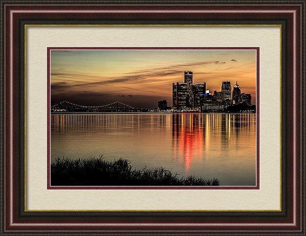 Pat Eisenberger - Reflections of Detroit Print