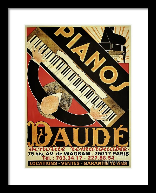 Mindy Sommers - Vintage Piano Art Deco Print