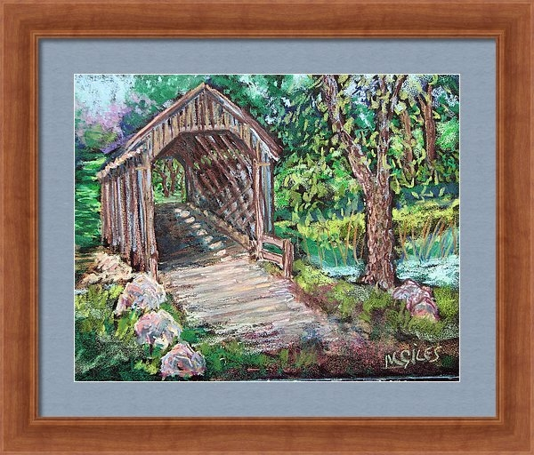 Madonna Siles - The Covered Bridge Print