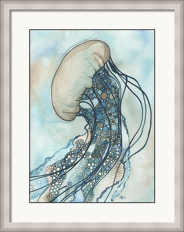 Tamara Phillips - Jellyfish Two Print