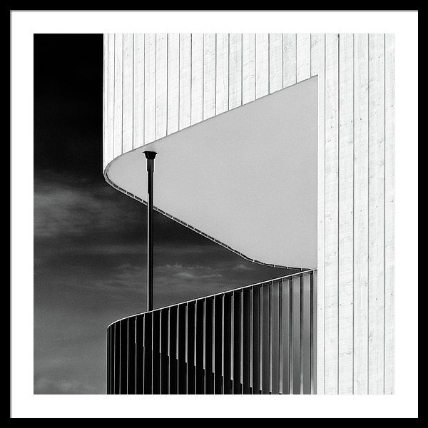 Dave Bowman - Curved Balcony Print