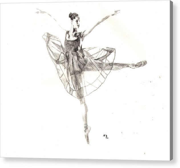 Lee McCormick - Misty Ballerina Dancer II... Print