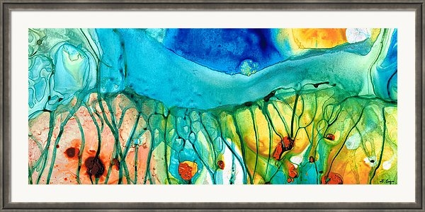 Sharon Cummings - Abstract Art - Journey To... Print