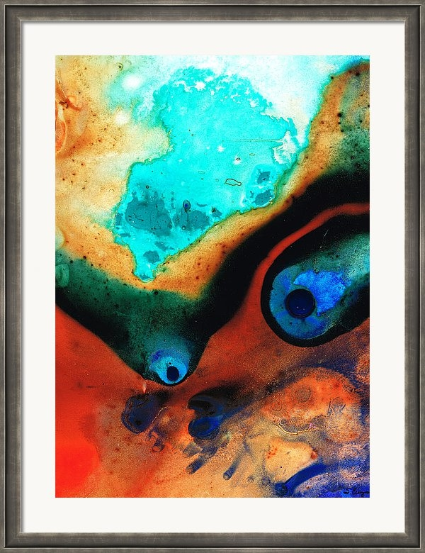 Sharon Cummings - Molten Earth Print