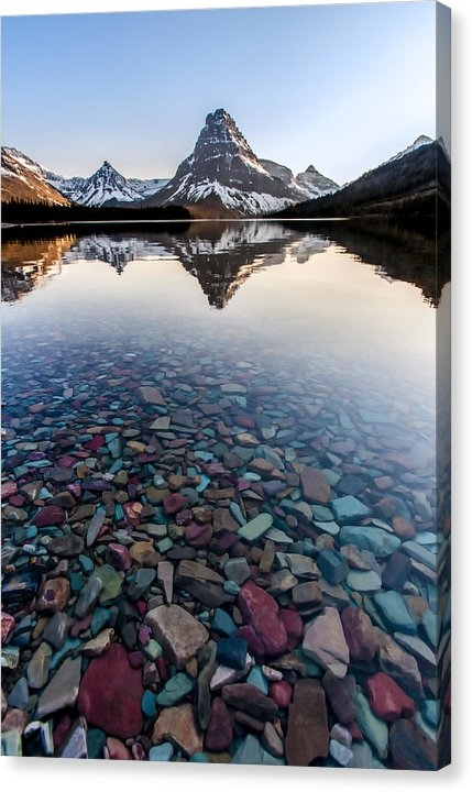 Aaron Aldrich - Glacier Skittles Print