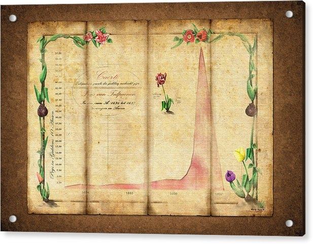 Rene Pronk - Tulipomania Print