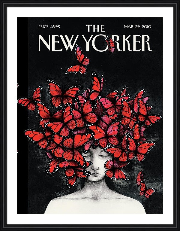 Ana Juan - New Yorker March 29th, 20... Print