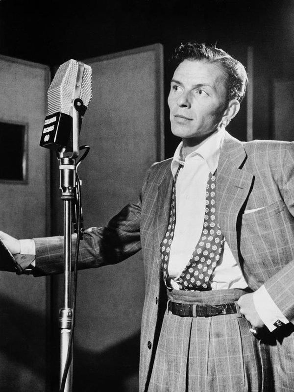 Mountain Dreams - Frank Sinatra Print