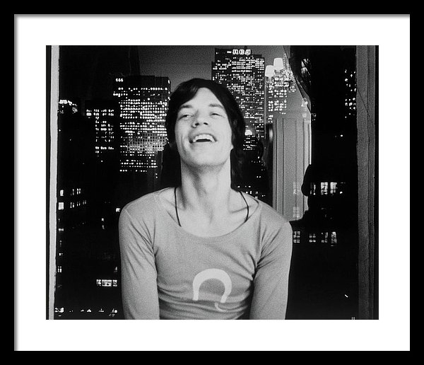 Cecil Beaton - Mick Jagger Laughing Print