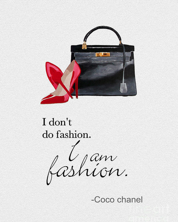 Rebecca Jenkins - I Am Fashion Print