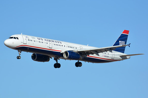 Brian Lockett - US Airways Airbus A321-23... Print