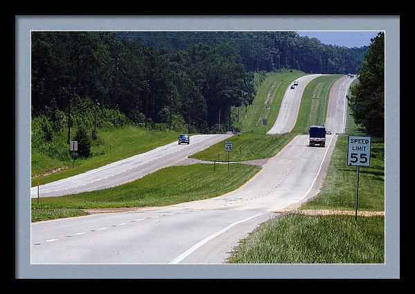 Carl Purcell - Interstate 19, Florida Print