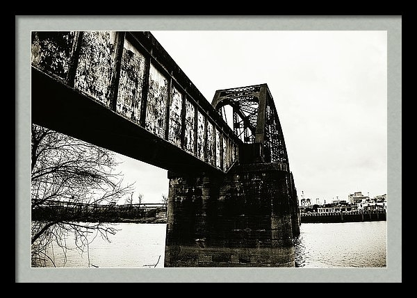 Scott Pellegrin - Railroad Over the Red Riv... Print