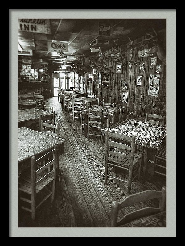 Scott Norris - Dixie Chicken Interior Print