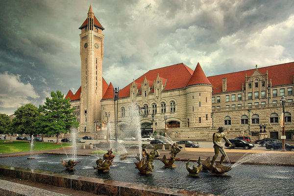 Greg Kluempers - Union Station St Louis Co... Print