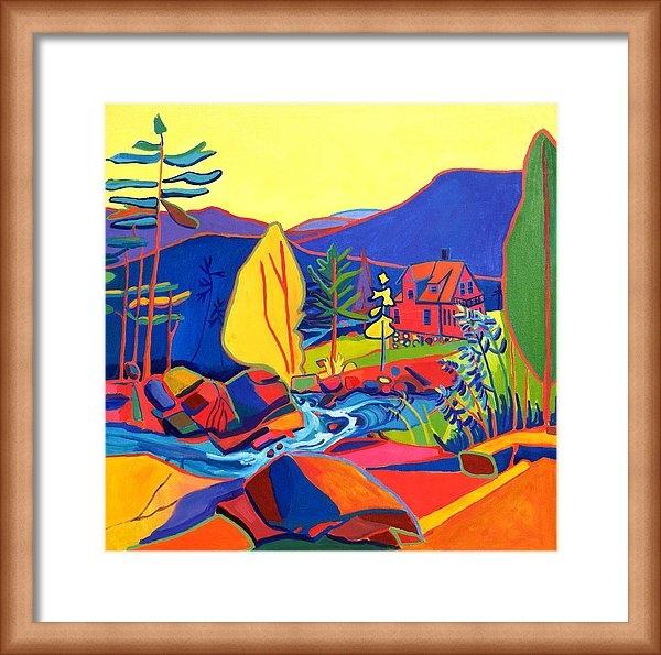 Debra Bretton Robinson - Wildcat River House Print